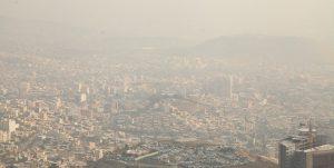 آلودگی هوای تهران در پنجمین روز متوالی