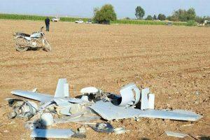 سقوط یک فروند پهپاد در استان اردبیل