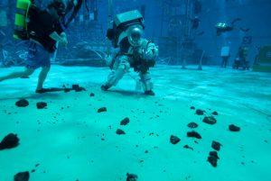 ناسا در زیر آب برای ماهپیمایی بعدی خود آماده میشود!