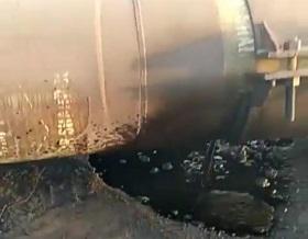 مهار نشت لوله نفت در استان بوشهر