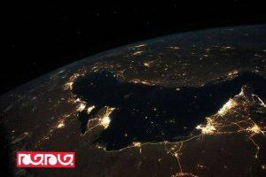 تصویر خلیج فارس از منظر ایستگاه فضایی بینالمللی
