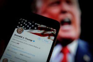 توییتر روی پست ترامپ برچسب «مضر» زد