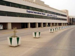 اصابت راکت به فرودگاه بین المللی بغداد