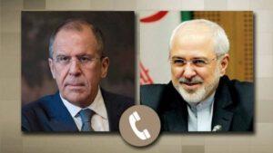 گفتوگوی تلفنی ظریف با وزیر امور خارجه روسیه