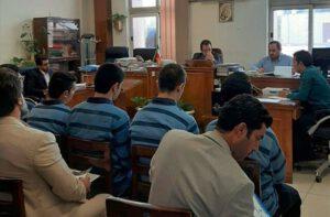 محاکمه سه سرباز زندان فشافویه به اتهام قتل