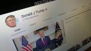 یوتیوب تعلیق ترامپ را تمدید کرد