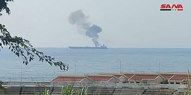 حمله به یک نفتکش در سواحل سوریه