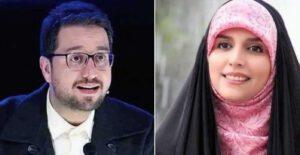 عذرخواهی بشیر حسینی از مژده لواسانی به خاطر ماجرای اربعین شیطون بلا (فیلم)